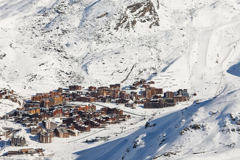 Val Thorens ski resort in the French ALps