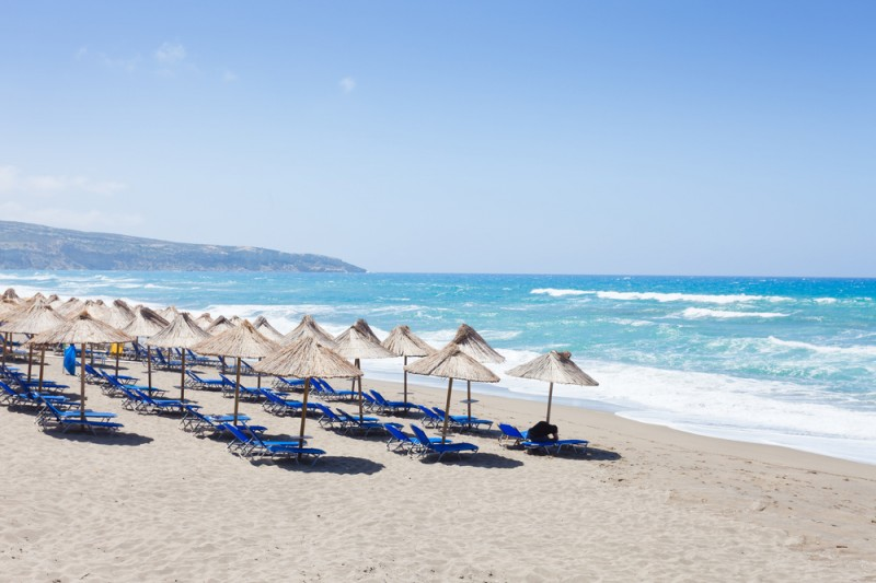 Crete - Greece - Beach of Kalamaki