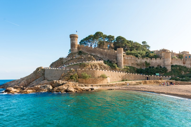 Tossa de Mar, Catalonia, Spain, Costa Brava