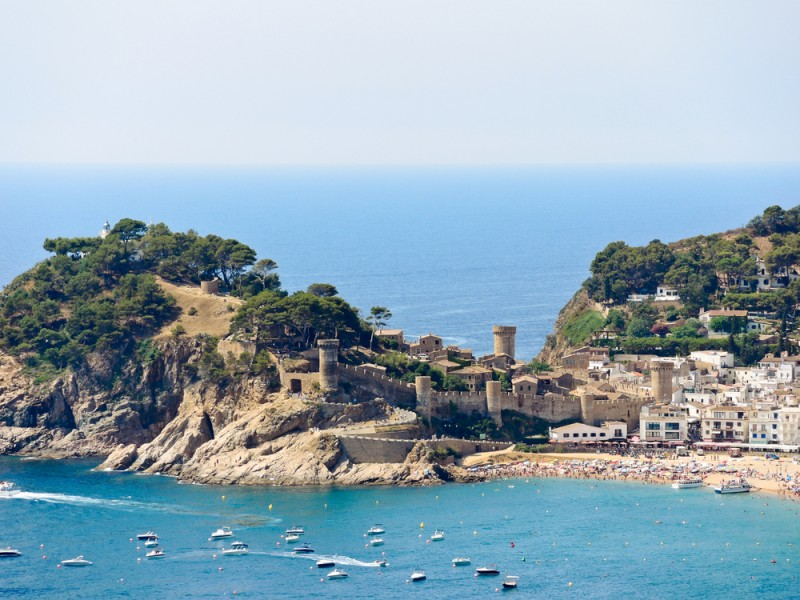 Tossa de Mar, Costa Brava, Catalonia, Spain