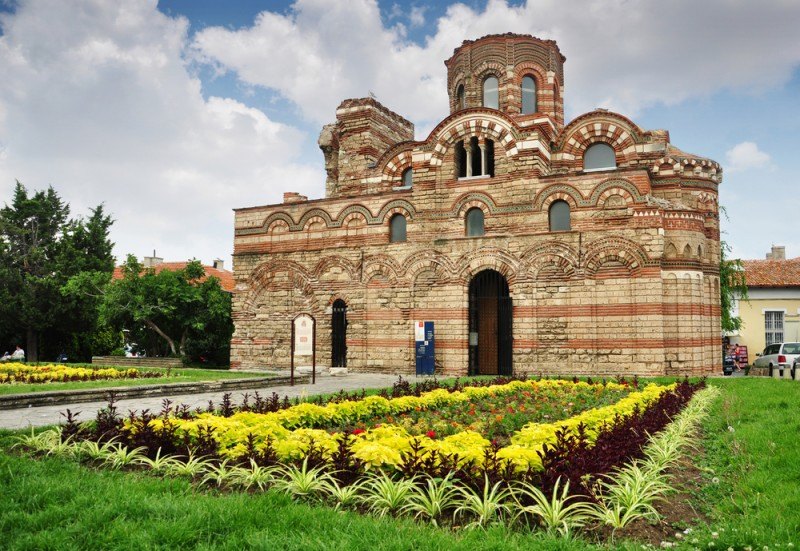 The Christ Pantocrator Curch in old Nessebar, Bulgaria